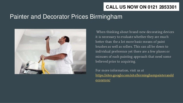 Painter And Decorator Prices >> Painter And Decorator Birmingham