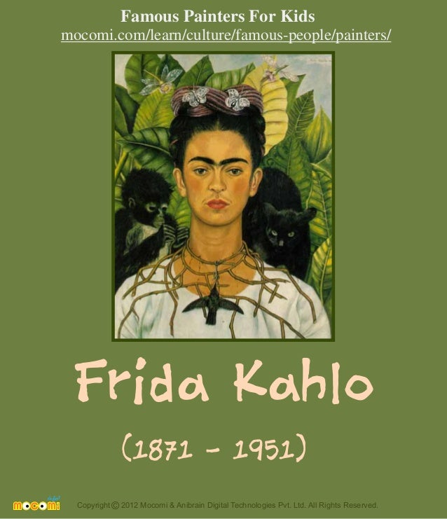 Frida Kahlo Famous Paintings