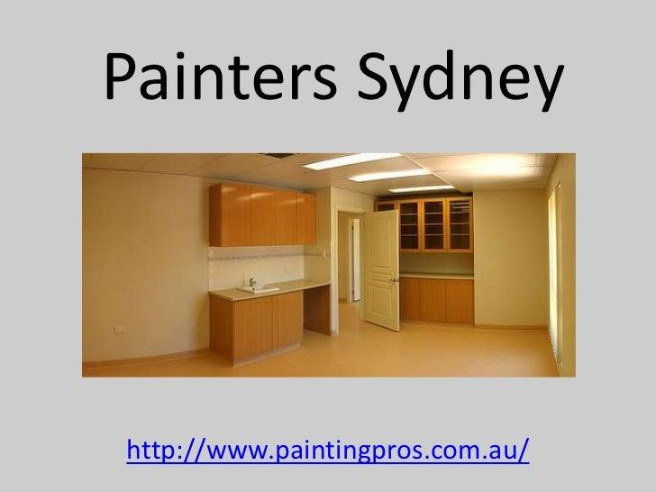 Painters Sydneyhttp://www.paintingpros.com.au/