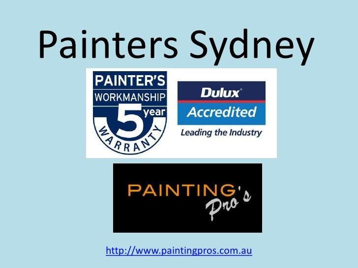 Painters Sydney<br />http://www.paintingpros.com.au<br />