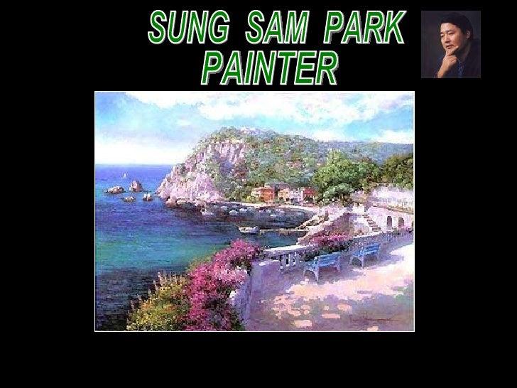 SUNG  SAM  PARK PAINTER