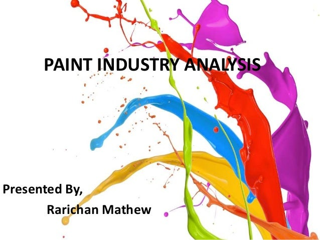 Paint industry porters five force & pestel analysis