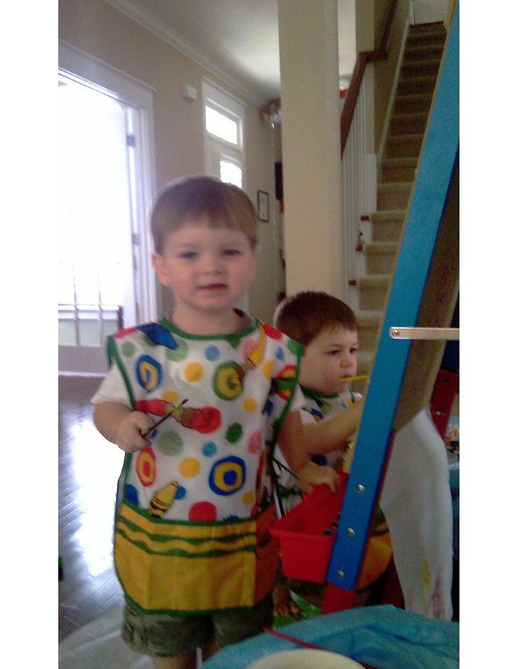 Thomas & Owen Painting