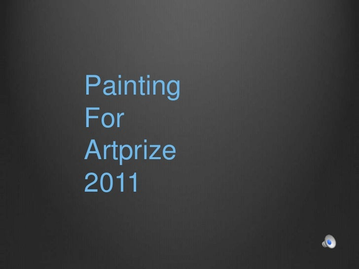 Painting <br />For<br />Artprize 2011<br />