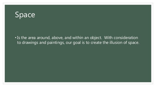 Elements Of Art Space Definition : All about painting definition elements types styles