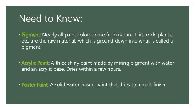 all about Painting (definition, elements, types, styles