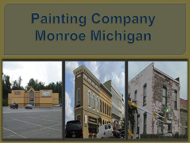 painting company monroe michigan 1 638