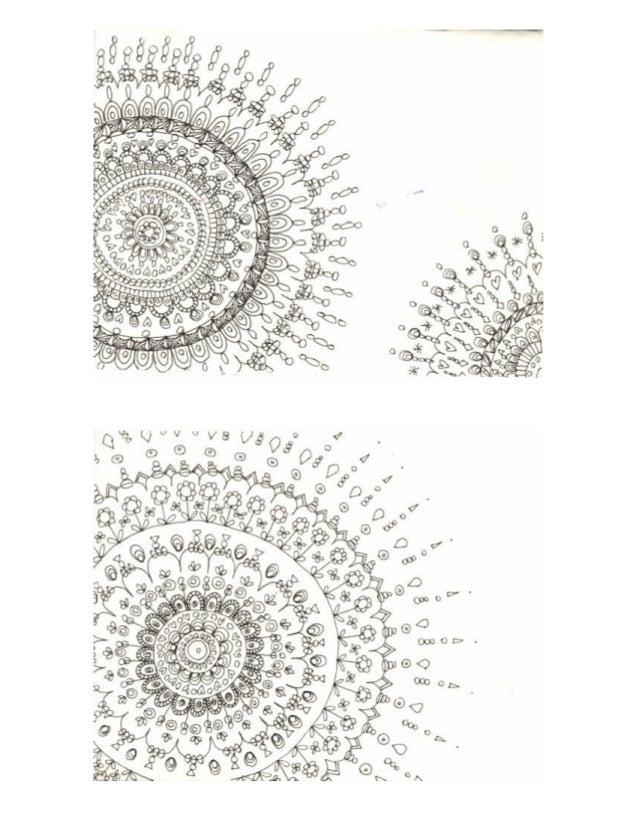 Zentangle and Mandala Inspired Christmas Cards Ideas