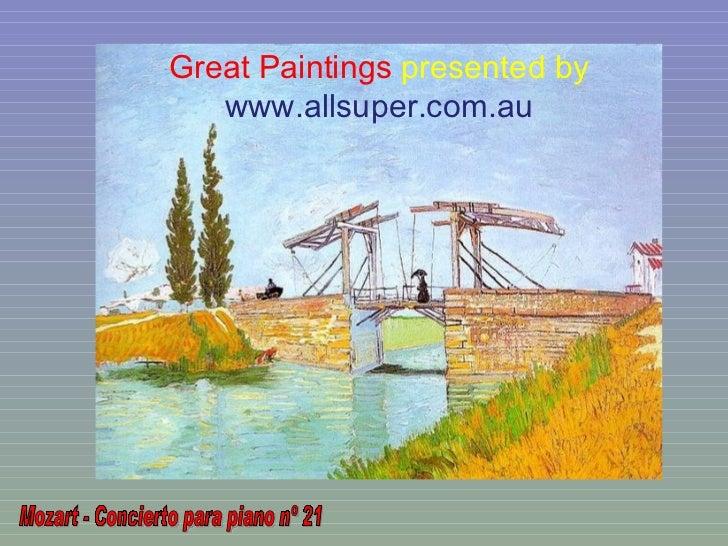 Great Paintings presented by   www.allsuper.com.au