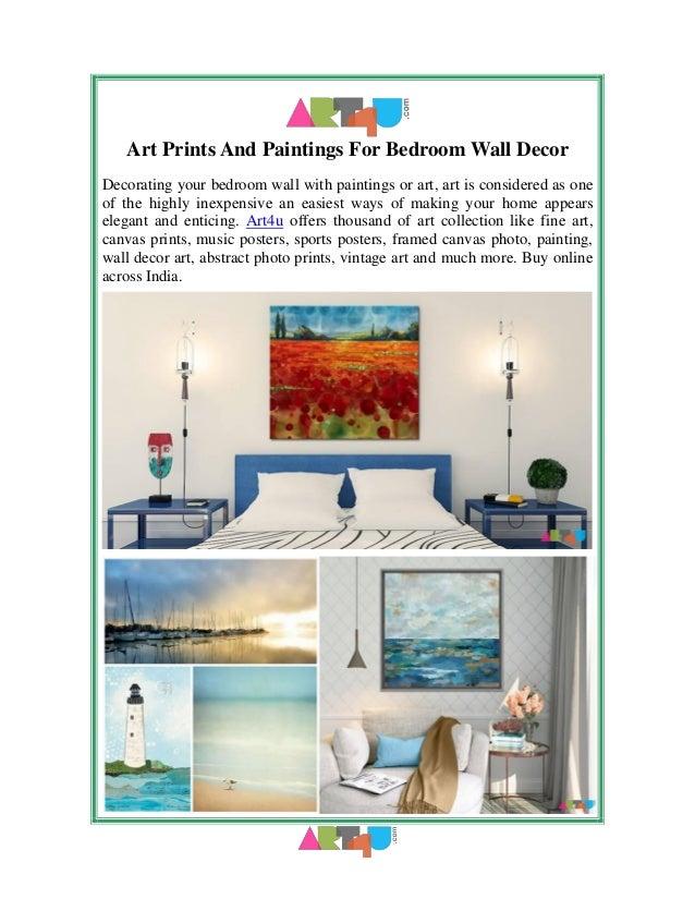 Art Prints And Paintings For Bedroom Wall Decor Decorating your bedroom wall with paintings or art, art is considered as o...