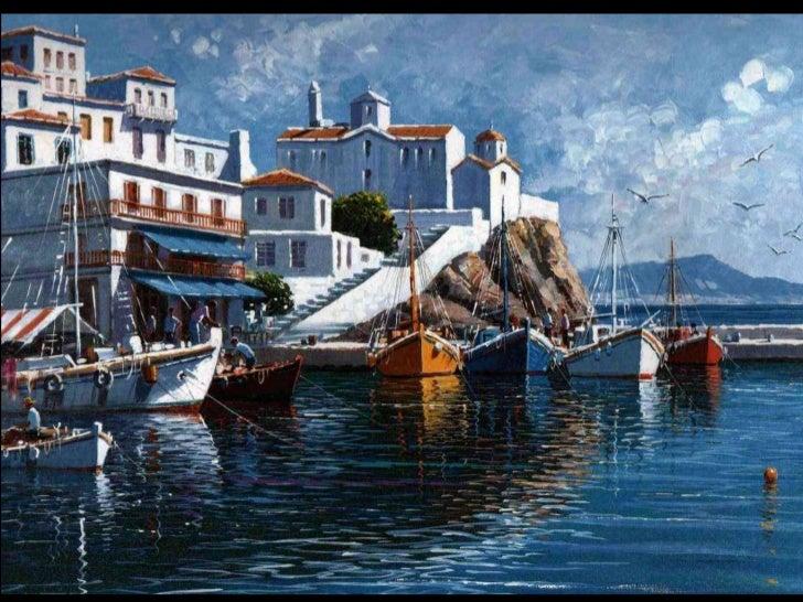 Paintings from Greece. (Nikos) Slide 2