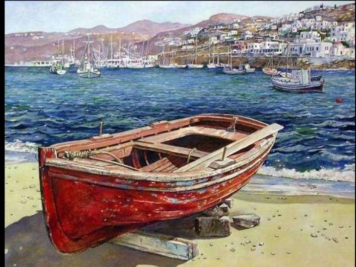 Paintings from Greece. (Nikos) Slide 3