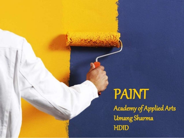 PAINT Academy of AppliedArts Umang Sharma HDID