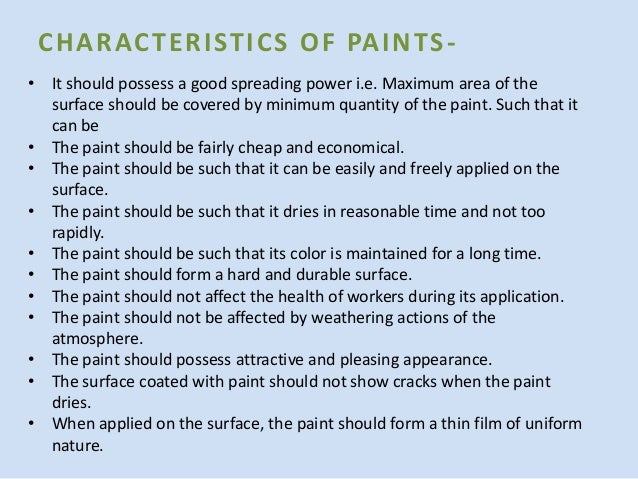 Which Is The Function Of A Paint S Binder