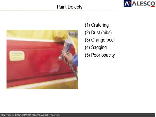 Paints(defects) and distempers