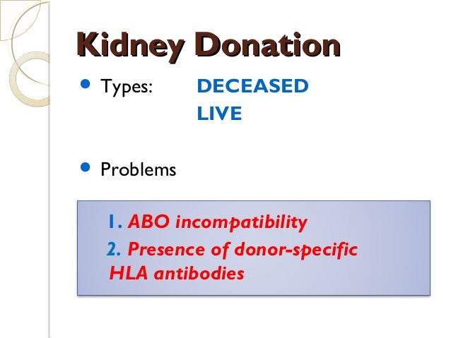 Paired And Altruistic Kidney Donation In The Uk