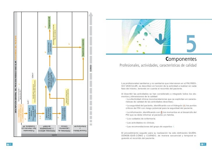 Proceso asistencial integrado - Riesgo vascular