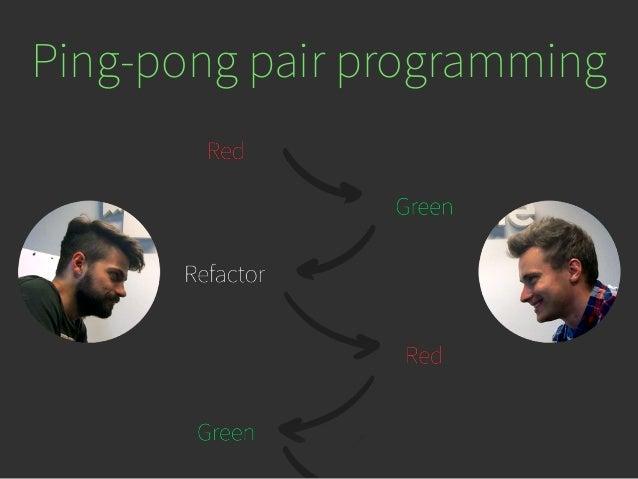 Ping pong programming
