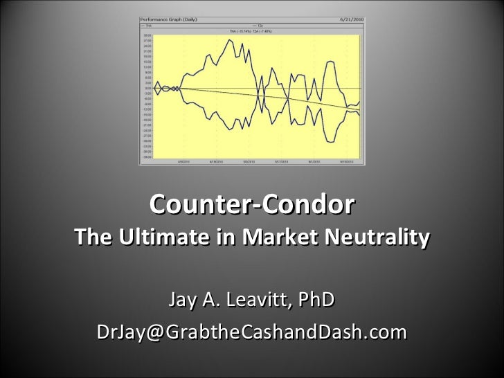 Counter-Condor The Ultimate in Market Neutrality Jay A. Leavitt, PhD [email_address]