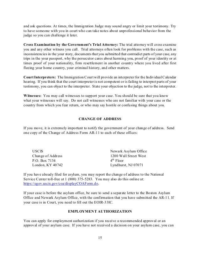 Pro Se Asylum Manual (ENG)