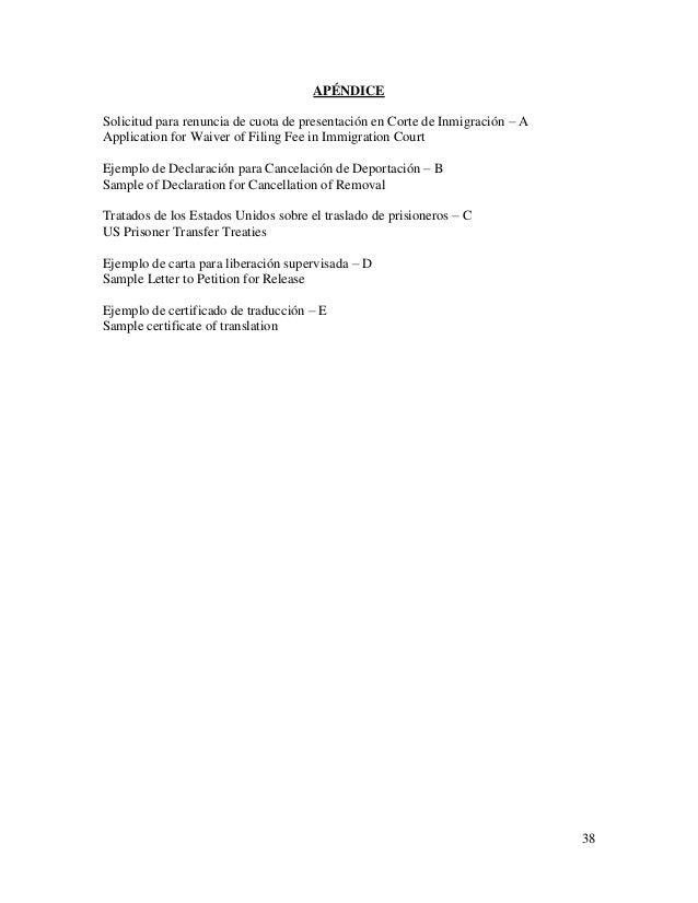 Ejemplos De Cartas Waiver Ejemplos De Carta De Recomendacion Para La