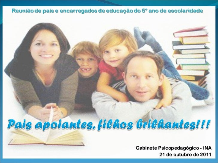 Gabinete Psicopedagógico - INA 21 de outubro de 2011