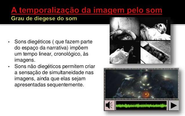 • Os sons têm papel significativo na percepção do tempo tanto em filmes quanto em games. • J. Juul (2004:133) no seu model...
