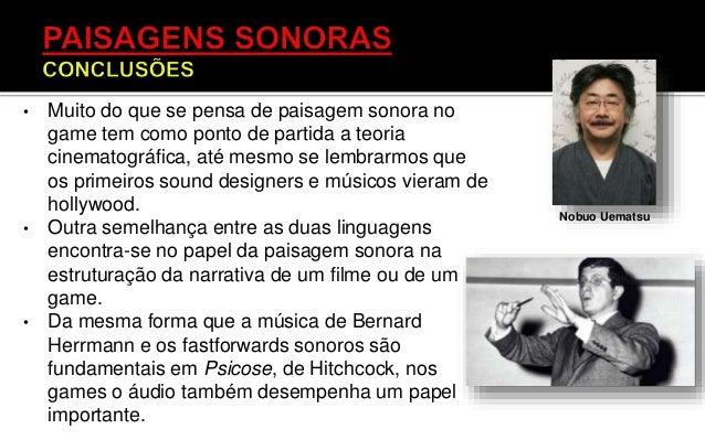 • Por meio das respostas a essa perguntas podemos encobrir negativos sonoros nas imagens ( sonoridade que as imagens invoc...