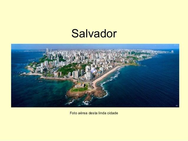 Salvador Foto aérea desta linda cidade