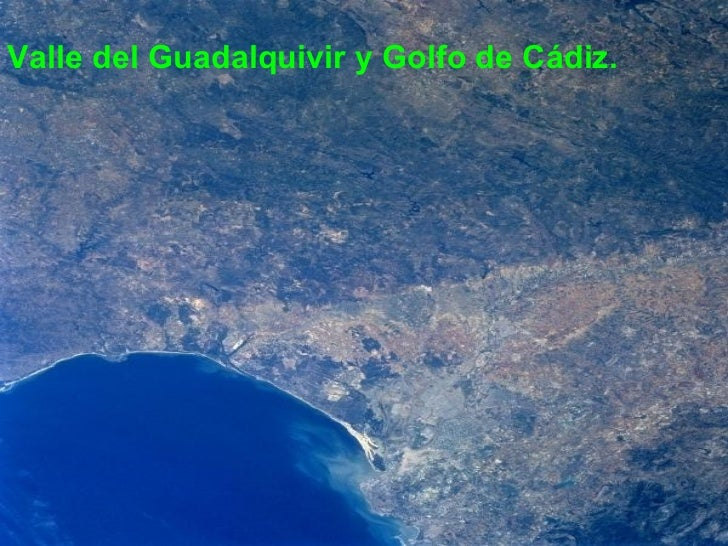 <ul><li>Valle del Guadalquivir y Golfo de Cádiz. </li></ul>