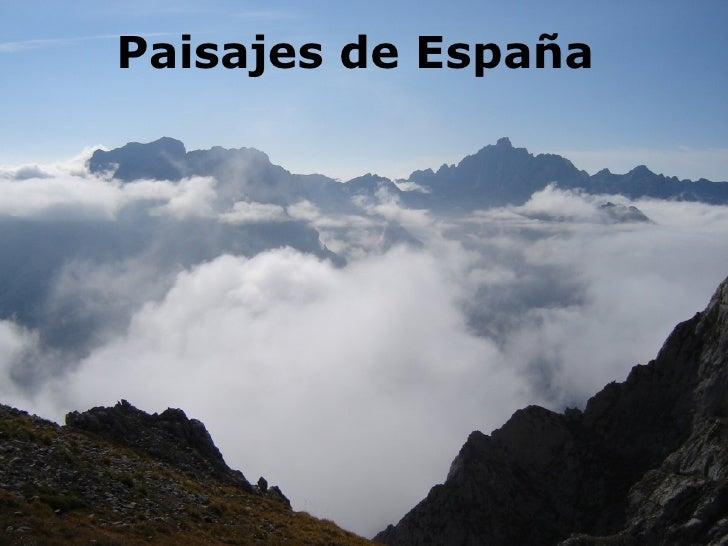 Paisajes de España