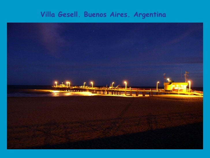 Villa Gesell. Buenos Aires. Argentina