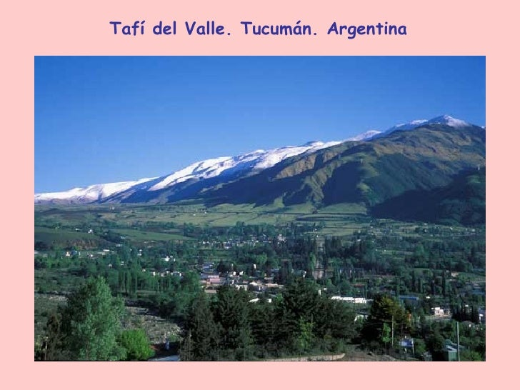 Tafí del Valle. Tucumán. Argentina