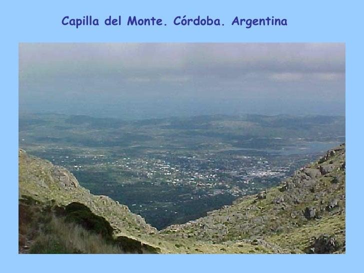 Capilla del Monte. Córdoba. Argentina