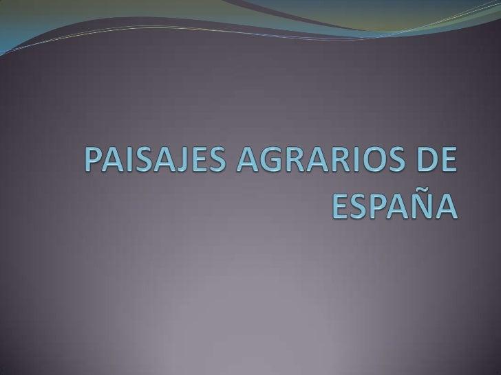 PAISAJE AGRARIO ATLÁNTICO Localización: Comprende el norte y noroeste peninsular. 20  % del territorio español. Factores...