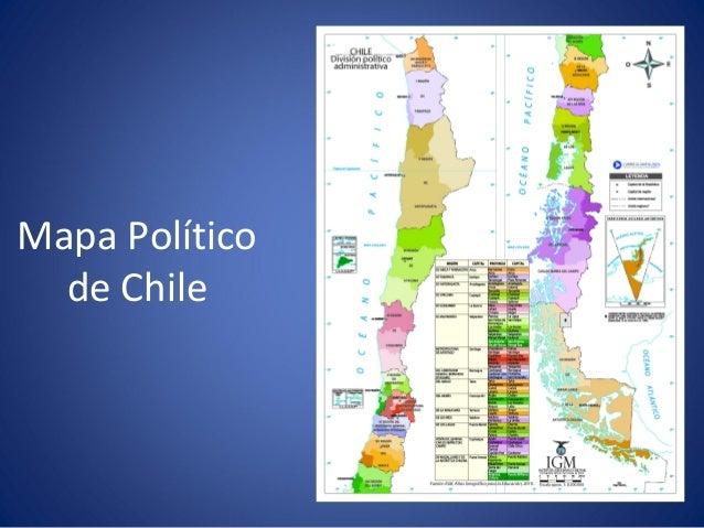 Paisajes de chile mapa poltico de chile sciox Choice Image