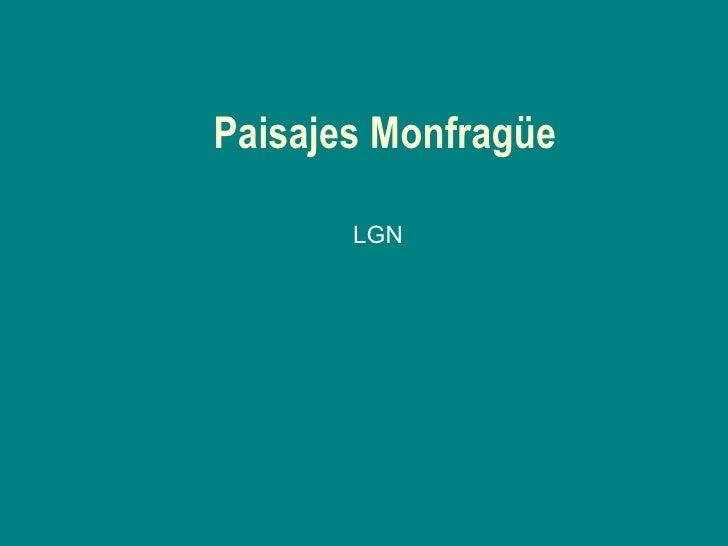 Paisajes Monfragüe LGN