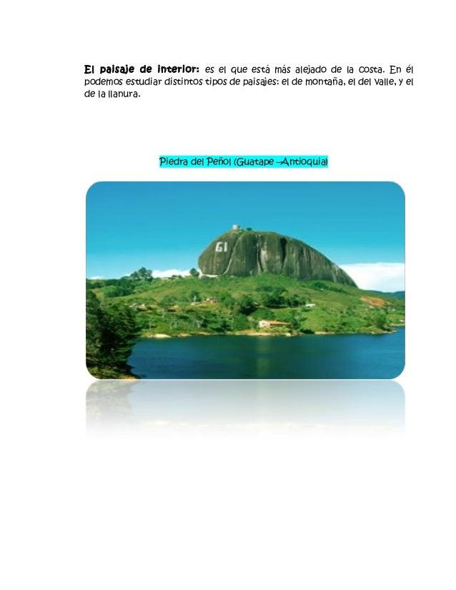 Paisajes naturales y culturales for Definicion de cuarto