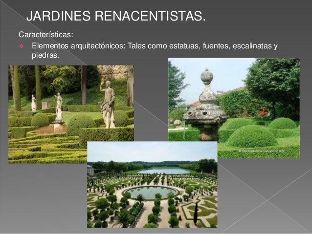 Jardines tarea 2 paisajismo for Jardines italianos