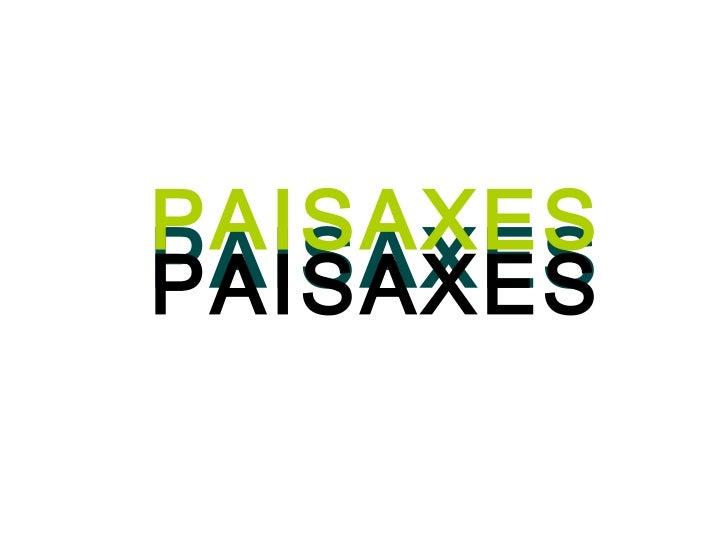 PAISAXES PAISAXES PAISAXES