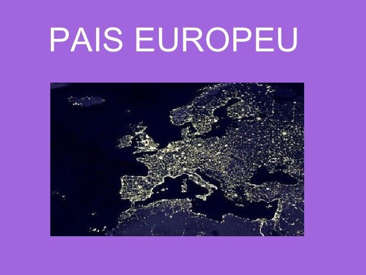 PAIS EUROPEU