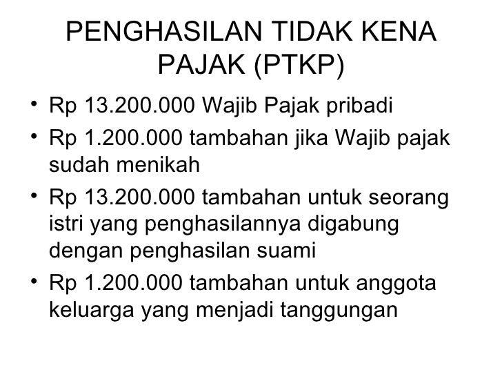 pajak penghasilan p ph