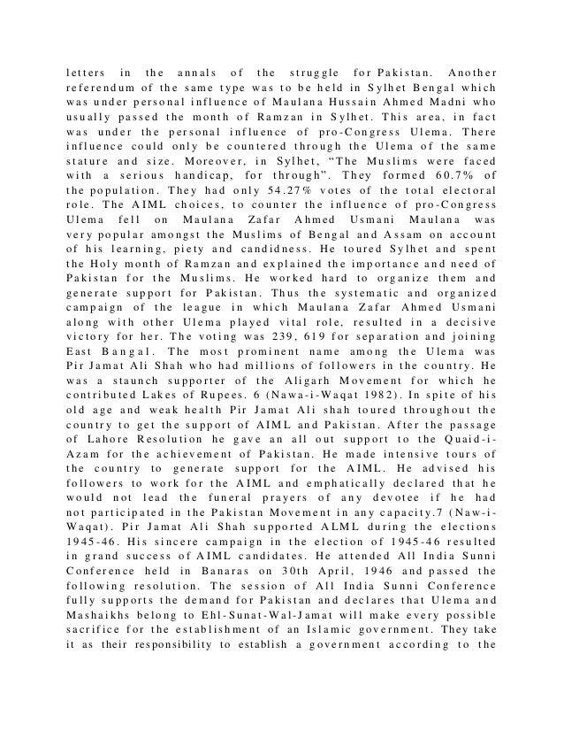 Role of Ulema