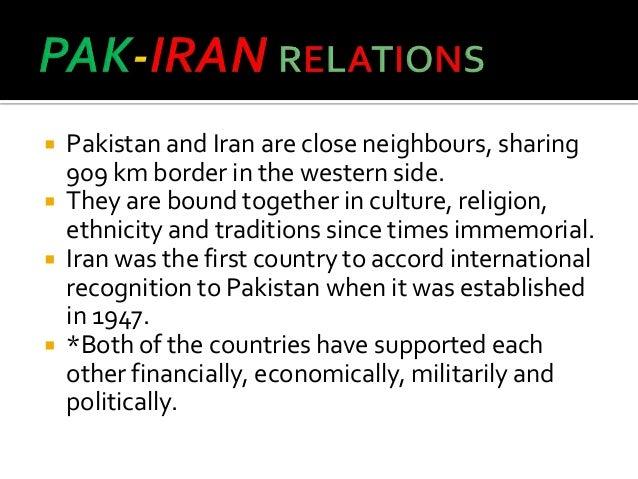 Relations: Iran and Pakistan