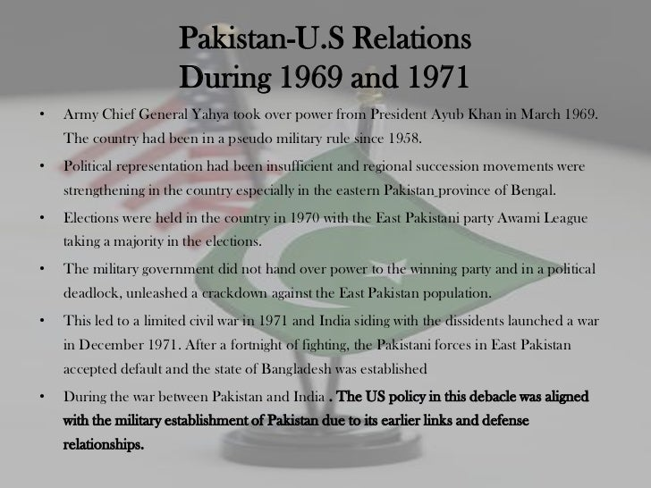 history of pakistan and america relationship