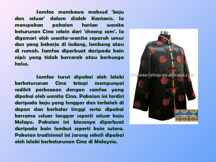 Pakaian Dan Perayaan Etnik Di Malaysia 1ba6957f82