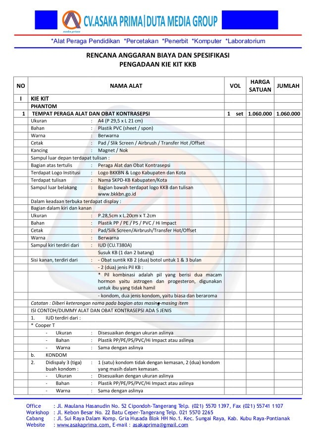 *Alat Peraga Pendidikan *Percetakan *Penerbit *Komputer *Laboratorium Office Workshop Cabang Website : Jl. Maulana Hasanud...