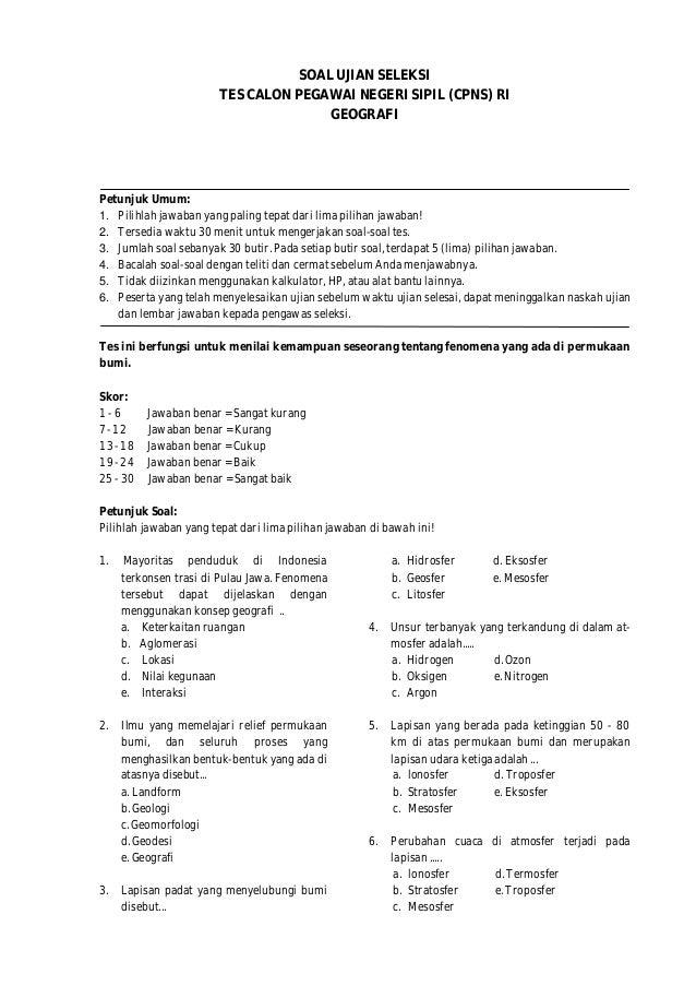 23+ Tes pengetahuan umum masuk kerja info