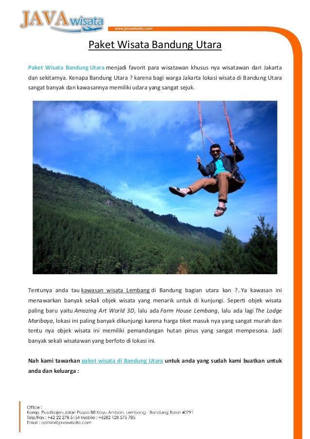 Paket Wisata Bandung Utara