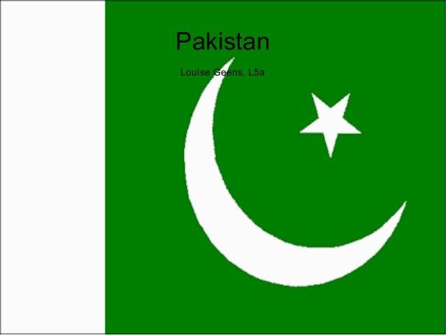 Pakistan Louise Geens, L5a